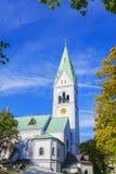 Εκκλησία της βασίλισσας Luisa Στοκ Φωτογραφία