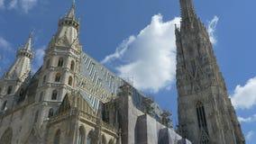 Εκκλησία της Βιέννης Άγιος Stephen απόθεμα βίντεο