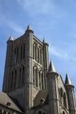 Εκκλησία της Γάνδης, Βέλγιο του τεμαχίου του Άγιου Βασίλη Στοκ Εικόνες