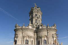Εκκλησία της ευλογημένης Virgin σε Dubrovitsy Στοκ Φωτογραφία