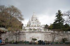 Εκκλησία της ιερής καρδιάς στο Παρίσι στοκ εικόνα με δικαίωμα ελεύθερης χρήσης