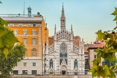 Εκκλησία της ιερής καρδιάς του Ιησού στη Ρώμη Στοκ εικόνα με δικαίωμα ελεύθερης χρήσης