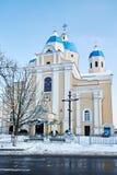 Εκκλησία της καθόδου του ιερού πνεύματος Στοκ Εικόνες