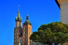Εκκλησία της Κρακοβίας Στοκ Εικόνες