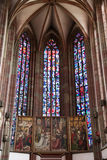 Εκκλησία της κυρίας μας στο Wurzburg Στοκ Φωτογραφίες