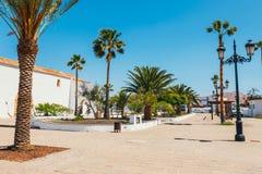 Εκκλησία της κυρίας Candelaria μας στο Λα Oliva, Fuerteventura Στοκ Φωτογραφίες