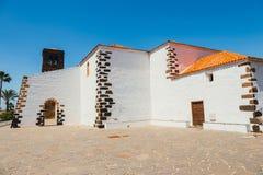 Εκκλησία της κυρίας Candelaria μας στο Λα Oliva, Fuerteventura Στοκ Εικόνες
