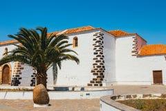 Εκκλησία της κυρίας Candelaria μας στο Λα Oliva, Fuerteventura Στοκ εικόνες με δικαίωμα ελεύθερης χρήσης