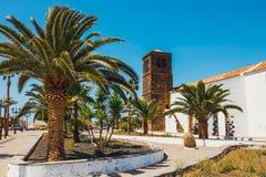 Εκκλησία της κυρίας Candelaria μας στο Λα Oliva, Fuerteventura Στοκ φωτογραφία με δικαίωμα ελεύθερης χρήσης