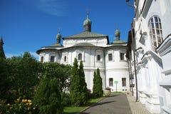 Εκκλησία της μεσολάβησης της άγιας παρθένας στο μοναστήρι Novospassky στη Μόσχα Στοκ εικόνες με δικαίωμα ελεύθερης χρήσης