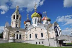 Εκκλησία της μεταμόρφωσης σε Peredelkino, Ρωσία Φωτογραφία χρώματος Στοκ φωτογραφίες με δικαίωμα ελεύθερης χρήσης