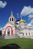 Εκκλησία της μεταμόρφωσης σε Peredelkino, Ρωσία Φωτογραφία χρώματος Στοκ εικόνα με δικαίωμα ελεύθερης χρήσης