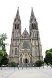 Εκκλησία 01 της Πράγας ST Ludmila Στοκ Εικόνα