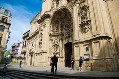 Εκκλησία της Σάντα Μαρία στο San Sebastian, Ισπανία Στοκ Φωτογραφία