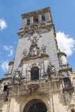 Εκκλησία της Σάντα Μαρία de Λα Asuncion, Arcos de Λα Frontera, Spai Στοκ Εικόνες