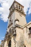 Εκκλησία της Σάντα Μαρία de Λα Asuncion, Arcos de Λα Frontera, Spai Στοκ Φωτογραφίες
