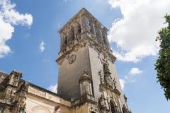 Εκκλησία της Σάντα Μαρία de Λα Asuncion, Arcos de Λα Frontera, Spai Στοκ φωτογραφία με δικαίωμα ελεύθερης χρήσης