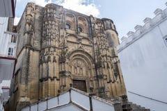 Εκκλησία της Σάντα Μαρία de Λα Asuncion, Arcos de Λα Frontera, Spai Στοκ εικόνα με δικαίωμα ελεύθερης χρήσης