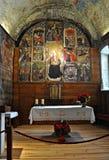 Εκκλησία της Σάντα Μαρία de Arties Στοκ φωτογραφία με δικαίωμα ελεύθερης χρήσης