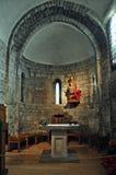 Εκκλησία της Σάντα Μαρία de Arties Στοκ Φωτογραφία