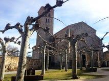 Εκκλησία της Σάντα Μαρία del Castillo Buitrago del Lozoya, Ισπανία Στοκ Φωτογραφία