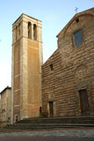 Εκκλησία της Σάντα Μαρία delle Grazie, Montepulciano Στοκ Φωτογραφία