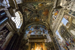 Εκκλησία της Σάντα Μαρία Sopra Minerva, Ρώμη, Ιταλία Στοκ Εικόνες