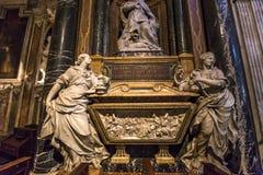Εκκλησία της Σάντα Μαρία Sopra Minerva, Ρώμη, Ιταλία Στοκ Φωτογραφίες