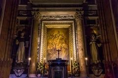 Εκκλησία της Σάντα Μαρία Sopra Minerva, Ρώμη, Ιταλία Στοκ εικόνες με δικαίωμα ελεύθερης χρήσης
