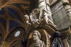Εκκλησία της Σάντα Μαρία Sopra Minerva, Ρώμη, Ιταλία Στοκ εικόνα με δικαίωμα ελεύθερης χρήσης