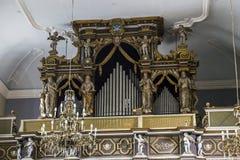 Εκκλησία της φραντσησθανής διαταγής Friars του ανηλίκου, Dubrovnik Στοκ εικόνες με δικαίωμα ελεύθερης χρήσης