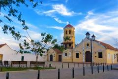 Εκκλησία της Barbara Santa Στοκ Φωτογραφία