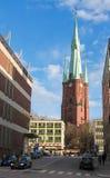 Εκκλησία της Klara στη Στοκχόλμη Στοκ φωτογραφία με δικαίωμα ελεύθερης χρήσης
