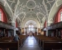 Εκκλησία της Mary η βασίλισσα Nave στοκ εικόνα