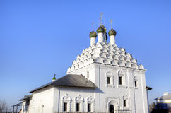 Εκκλησία της Nikola Posadsky (εκκλησία αναζοωγόνησης) Στοκ Εικόνα