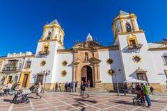 Εκκλησία της Ronda, Μάλαγα, Ισπανία Στοκ εικόνες με δικαίωμα ελεύθερης χρήσης