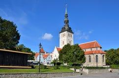 Εκκλησία του Άγιου Βασίλη (Niguliste kirik) Στοκ Εικόνες
