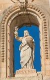 Εκκλησία του Άγιου Βασίλη, Siggiewi, Μάλτα Στοκ εικόνα με δικαίωμα ελεύθερης χρήσης