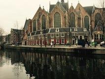 εκκλησία του Άμστερνταμ Στοκ φωτογραφία με δικαίωμα ελεύθερης χρήσης