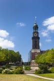 Εκκλησία του Αμβούργο ST Michaelis Στοκ Εικόνα