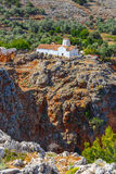 Εκκλησία του αρχαγγέλου Michael, Κρήτη Στοκ Εικόνες
