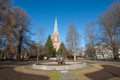 Εκκλησία του Αλεξάνδρου, Τάμπερε Στοκ Εικόνες
