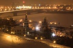 Εκκλησία Stroganovsky Στοκ φωτογραφίες με δικαίωμα ελεύθερης χρήσης