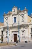 Εκκλησία του καρμινίου. Cerignola. Πούλια. Ιταλία. Στοκ Φωτογραφία