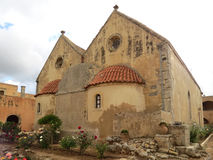 Εκκλησία του μοναστηριού Arkadi Στοκ φωτογραφίες με δικαίωμα ελεύθερης χρήσης