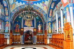 Εκκλησία του μοναστηριού Sambata, Fagaras στοκ εικόνες με δικαίωμα ελεύθερης χρήσης