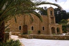 Εκκλησία του μοναστηριού Savatiana Στοκ φωτογραφία με δικαίωμα ελεύθερης χρήσης