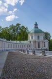 Εκκλησία του παλατιού Menshikov σε Oranienbaum Στοκ Εικόνες