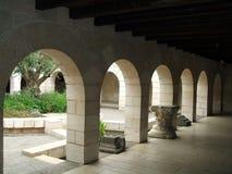 Εκκλησία του πολλαπλασιασμού των φραντζολών και των ψαριών σε Tabgha, Ισραήλ Στοκ Φωτογραφίες