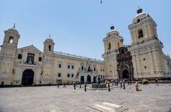 Εκκλησία του Σαν Φρανσίσκο στη Λίμα, Περού στοκ φωτογραφία με δικαίωμα ελεύθερης χρήσης
